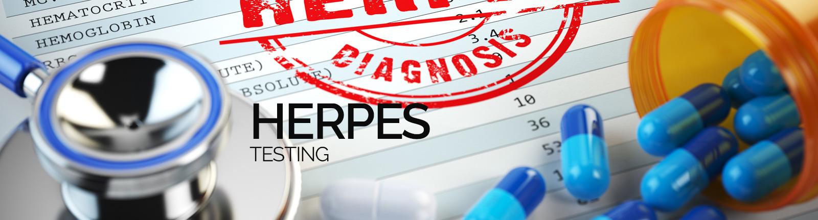 Herpes Testing London