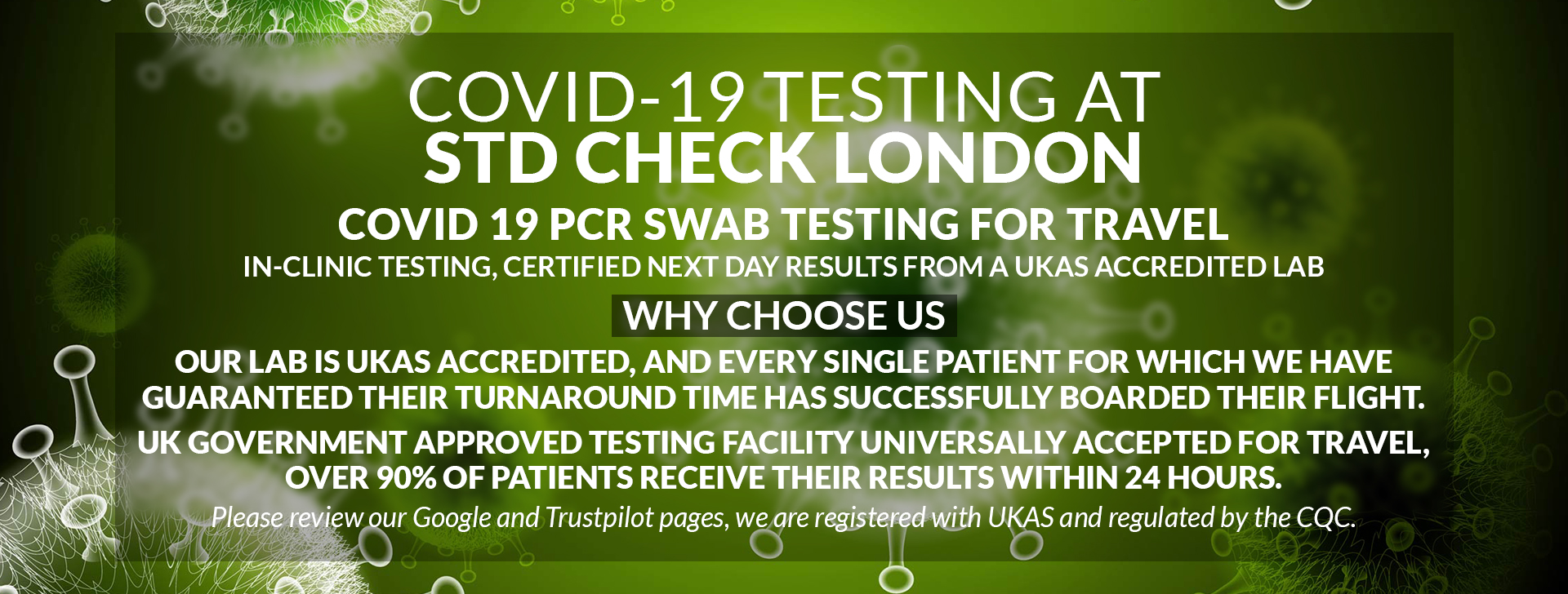 Covid 19 Test For Travel Near Me Pcr Testing London
