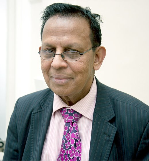 Our Harley Street Clinic gp - Professor Sam Lingam